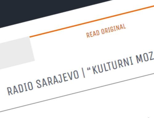 Radio Sarajevo – THEATRE MASKA I POKRET