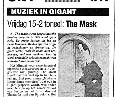 THEATRE – THE MASK