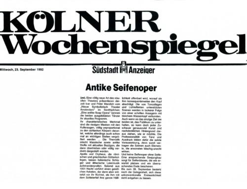 ANTIKE SEIFENOPER