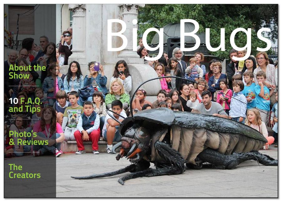 Big Bugs Show - Brochure