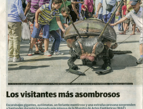 LOS VISITANTES MÁS ASOMBROSOS
