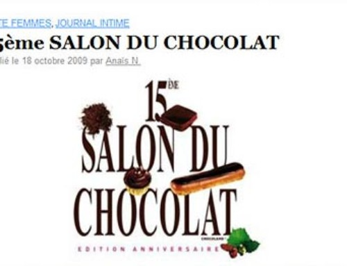 15eme Salon du Chocolat Paris